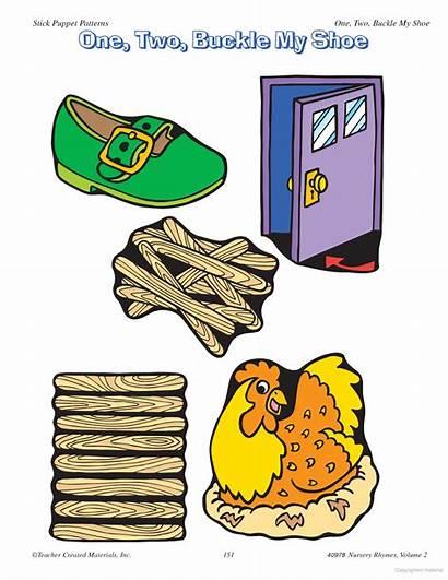 Buckle Shoe Activities Clipart Learning Nursery Preschool