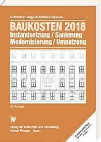 Haus Kosten Rechner : baukosten 2018 band 1 altbau instandsetzung sanierung ~ Watch28wear.com Haus und Dekorationen