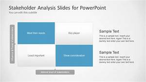 stakeholders analysis slides for powerpoint slidemodel With stakeholder map template powerpoint