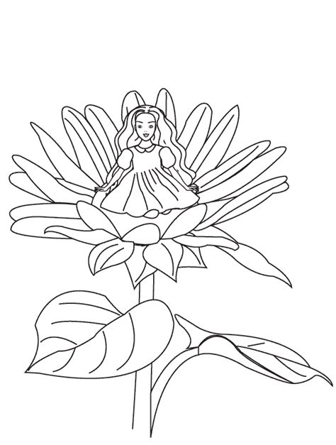 coloring pages thumbelina page1 912 | page1