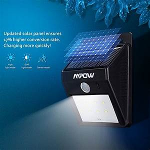 éclairage Extérieur Sans Fil : 2 pack 8 led eclairage exterieur imperm able mpow ~ Dailycaller-alerts.com Idées de Décoration
