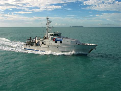 Armidale Class Patrol Boat Specifications by Australian Customs Quot Bay Class Quot 38m Austal Corporate