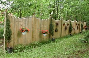 Wood Privacy Fence Designs Ideas