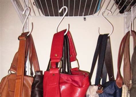 Closet Hooks For Purses by My Bag And Purse Wardrobe Save Spend Splurge