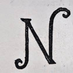 the letter n typography typography a z pinterest With letter typography art