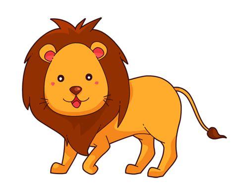 cute clipart lion pencil   color cute clipart lion