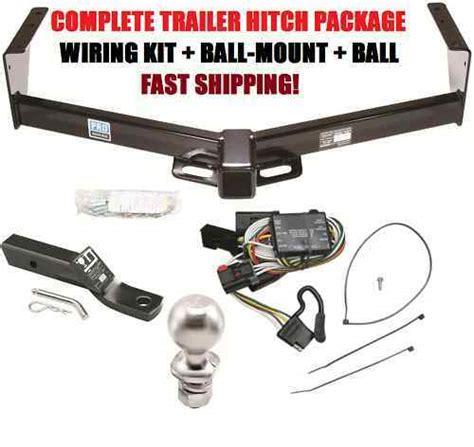 dodge caravan complete trailer hitch package ebay