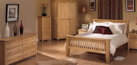 Wood Solid Oak Bedroom Furniture