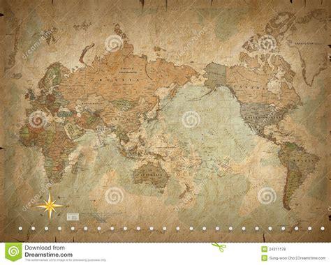 mapa de mundo antigo ilustracao  vetor ilustracao de