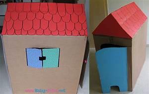 Haus Gestalten Spiele : kinder spielhaus basteln aus pappe anleitung mit bildern ~ Lizthompson.info Haus und Dekorationen