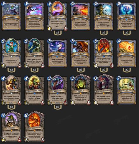 Top Tier Decks Hearthstone by Deck Mage Tempo Deck Pro Hearthstone Heroes Of