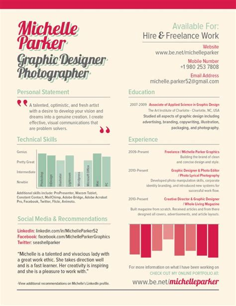Creative Resumes For Artists by 168 Best Creative Cv Inspiration Images On