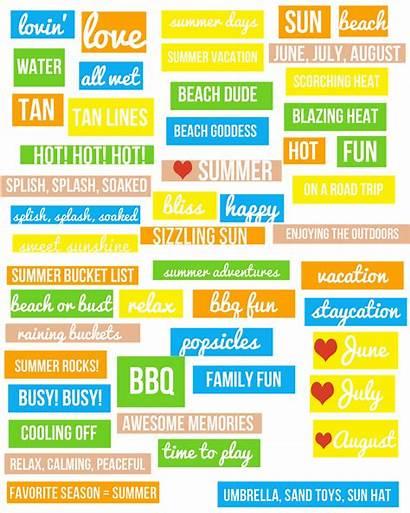 Summer Word Strips Update Open Photoshop Save