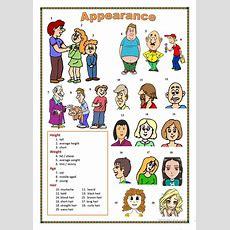 Describing Appearance Worksheet  Free Esl Printable Worksheets Made By Teachers