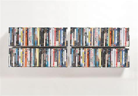 Dvd Shelves Set Of 4 Udvd