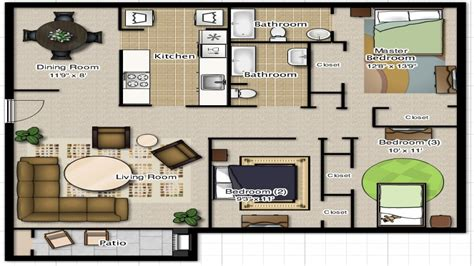 3 Bedroom 2 Bathroom House Plans 3 Bedroom 2 Bathroom