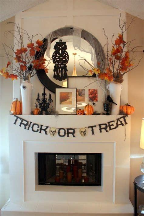halloween decorating ideas   mantel