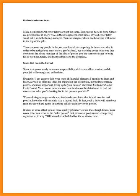 format cover letter sample memo