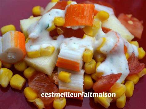 cuisiner le surimi recettes de salade au surimi