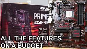 Asus Prime B350 Plus Am4 Ryzen Motherboard Review