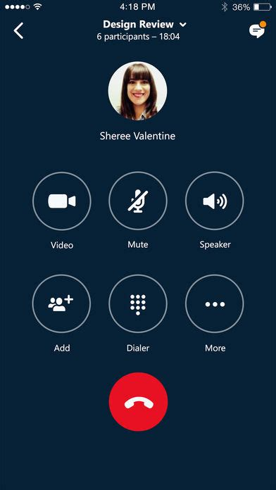 lync for iphone skype for business iphone app app apps