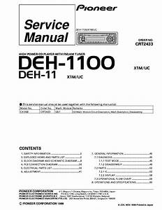 Wiring Diagram Database  Pioneer Deh X3600ui Wiring Diagram