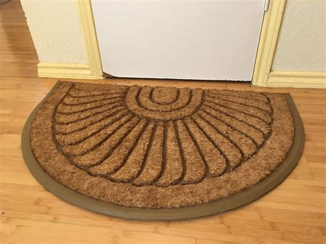 Sunburst Doormat by Sunburst Coir Brush Doormat 24 Quot X 36 Quot Ebay