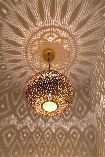 Moroccan Ceiling Boho Lanterns Pendant Lamp Lighting