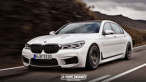 2016 Bmw 7-series Virtually Imagined As An M7