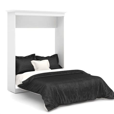 Bestar Wall Beds by Bestar Versatile 70 Wall Bed In White 40184 17