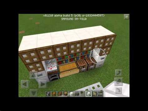 cuisine dans minecraft comment faire une cuisine dans minecraft pocket édition