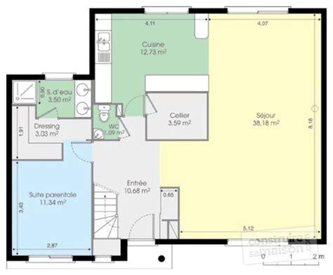 chambre privative avec maison contemporaine 5 dé du plan de maison