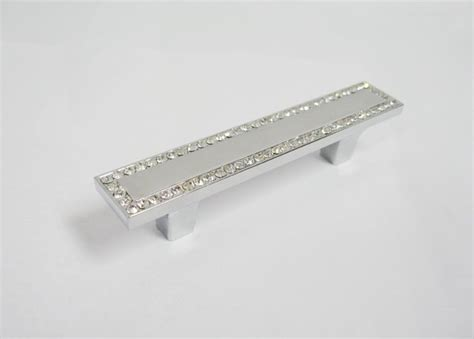 10pcs Crystal Drawer Handles Cabinet Pulls For Furniture