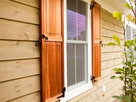 types  exterior window shutters diy