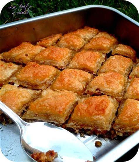 cuisine turque recettes avec photos baklava la des patisseries orientales recette turque
