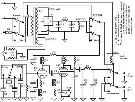 Transmitter Circuit Diagram