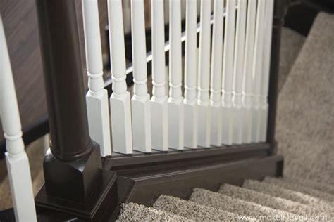 sanding banister spindles how to stain paint an oak banister the shortcut method