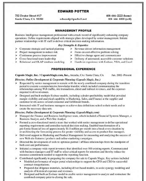 Mis Executive Resume Sle Pdf by Pdf Customer Experience Director Resume Sales Book