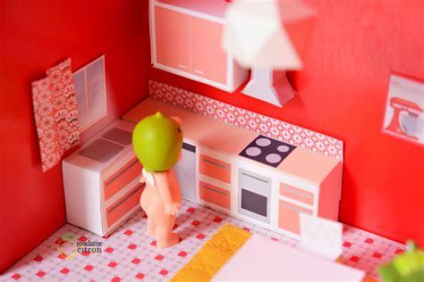 livre de cuisine pdf diy une maison de poupée meubles miniatures à imprimer la cuisine madame citron de
