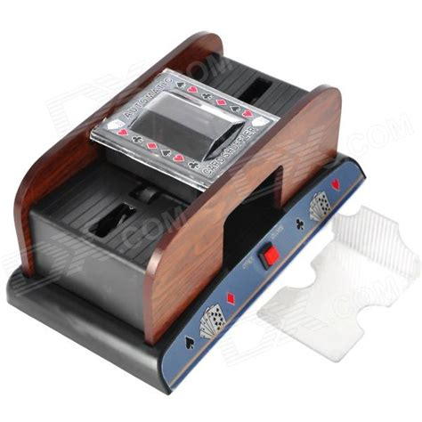Best sellers save 10% rattan craps. Deluxe Wooden 1~2 Deck Automatic Card Shuffler (4 x AA) - Free Shipping - DealExtreme