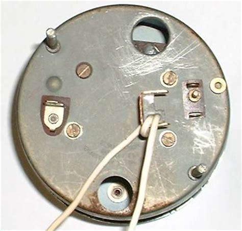 installing  electric tachometer   mga