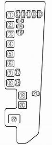 Mazda Mpv  2002 - 2006  - Fuse Box Diagram