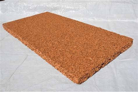 panneau isolant thermique plaque de li 232 ge naturel brut isolant thermique et phonique