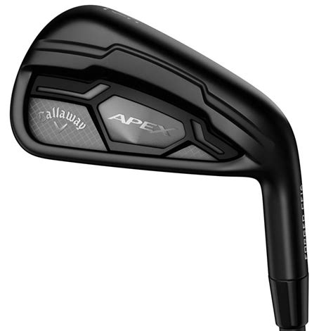 Callaway Apex Irons Are Back In Black - Golfalot