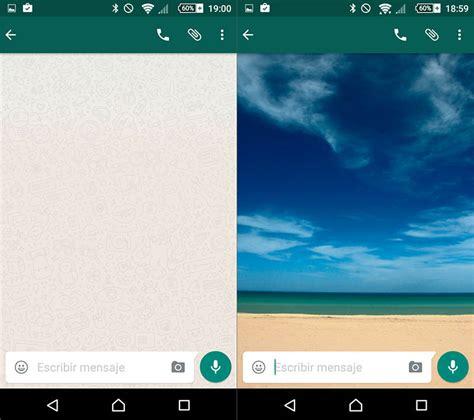 como cambiar el fondo de pantalla al whatsapp apps