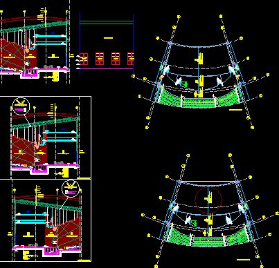 details  theater  autocad cad   mb