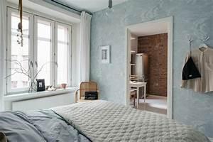 Décoration Chambre Scandinave : d coration scandinave pour chambre coucher moderne ~ Melissatoandfro.com Idées de Décoration