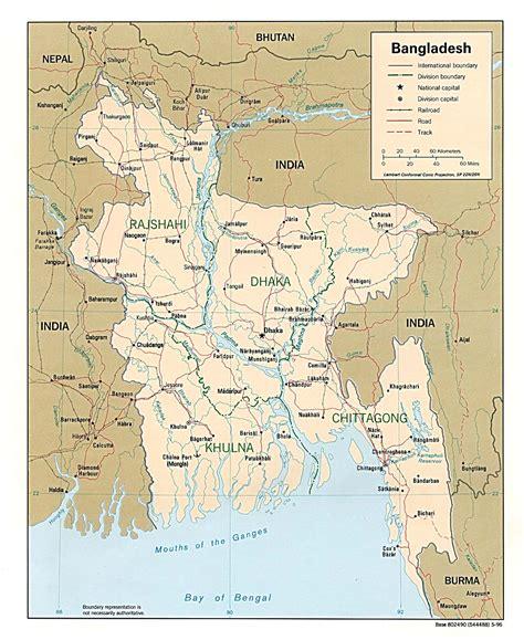map  bangladesh