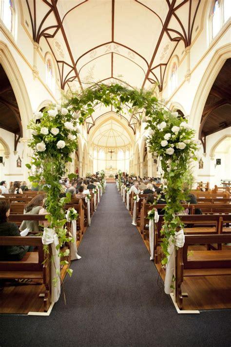 breathtaking church wedding decorations wedding