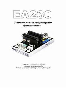 Ea230 Manual Voltage Regulator